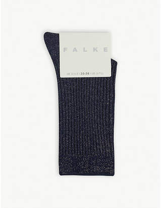 Falke Glitter cotton-blend socks