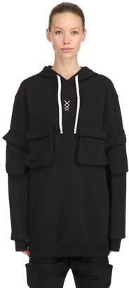 Amon Cotton Sweatshirt Hoodie W/ Pockets