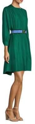 Derek Lam Belted Tunic Dress