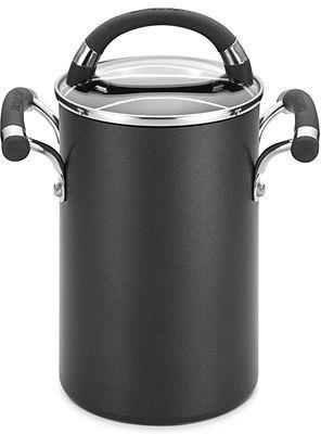 Circulon Espree 3.5 Qt. Covered Asparagus Pot with Steamer Insert