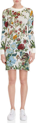 Paul & Joe Sister Coquette Floral Sweater Dress