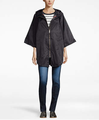 Totes Women's Zip-Front Rain Poncho $65 thestylecure.com