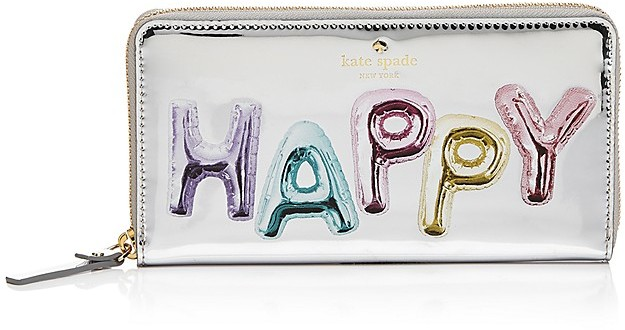 Kate Spade kate spade new york Whimsies Happy Lacey Patent Leather Wallet
