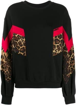 Gaelle Bonheur colour-block sweatshirt