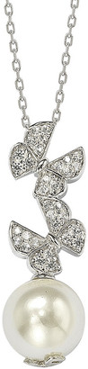 LeVian Suzy Diamonds Suzy Silver 10Mm Pearl Necklace