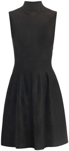 Azzedine Alaia Velvet high-neck dress