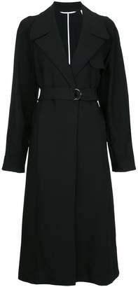 Bassike longline trench coat