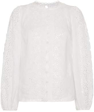 Zimmermann Cotton Broderie Anglaise Blouse