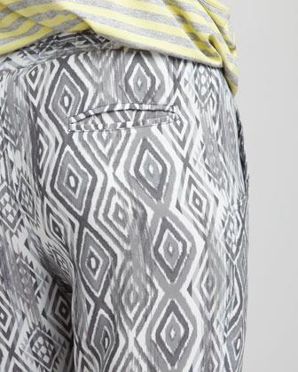 Ella Moss Aztec Printed Pants