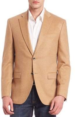 Saks Fifth Avenue COLLECTION Two-Button Front Cashmere Blazer