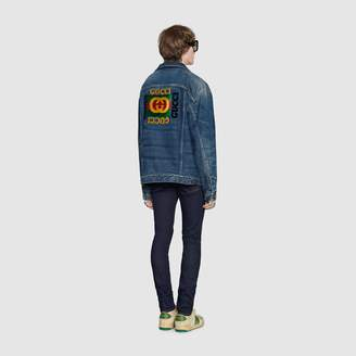 87bd4bd4c Gucci Denim Jackets For Men - ShopStyle UK