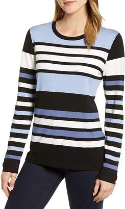 Karl Lagerfeld Paris Stripe Sweater