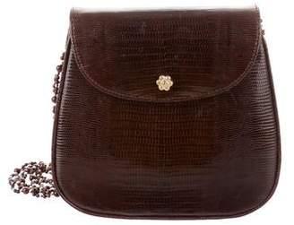 Lana of London Lizard Skin Crossbody Bag
