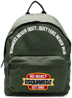 DSQUARED2 no mercy backpack
