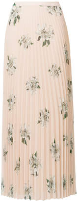 Dondup floral print pleated skirt