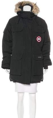 Canada Goose Fur-Trimmed Expedition Coat