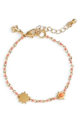 Rebecca Minkoff Sole Beaded Link Bracelet