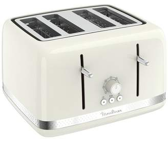 Moulinex 4 Slice Toaster - Ivory