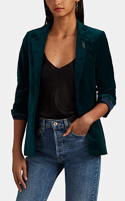 Zadig & Voltaire WOMEN'S VOLLY COTTON VELOUR BLAZER