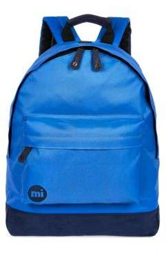 River Island Mens Blue Mipac backpack