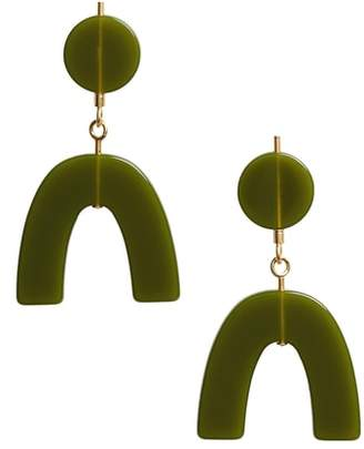 Madewell Shapes Statement Drop Earrings