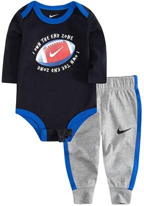 Nike Baby Boy Football Bodysuit & Jogger Pants Set