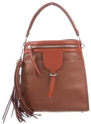 Tod's 2018 Thea Tassel Bag silver 2018 Thea Tassel Bag