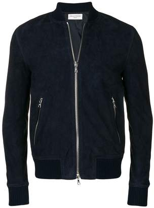 Officine Generale leather bomber