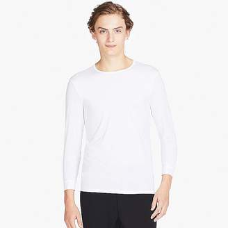 Uniqlo Men's Airism Crewneck Long-sleeve T-Shirt