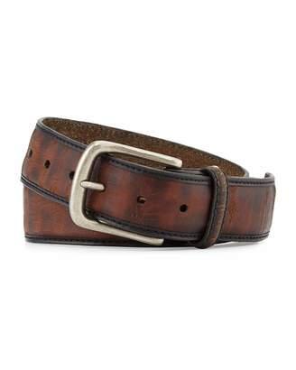 Bill Lavin Vintage Leather Belt, Brown