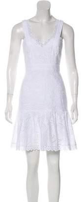 Saloni Sleeveless Mini Dress w/ Tags