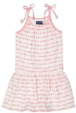 Andy & Evan Girl's & Little Girl's Triangle-Print Gathered Flowy Dress