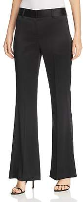 Elie Tahari Anna Flared Satin Pants