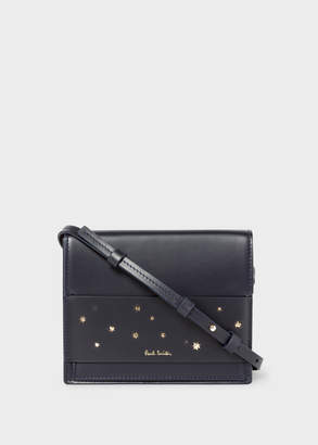 Paul Smith Women's Navy 'Gold Star' Leather Cross-Body Bag