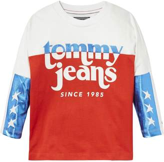 Tommy Hilfiger TH Kids Stars + Shimmer Long-Sleeve Tee