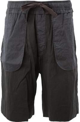 Ziggy Chen drawstring bermuda shorts