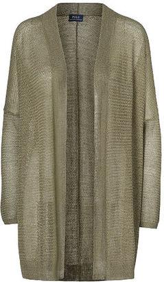 Polo Ralph Lauren Open-Front Cardigan $198 thestylecure.com