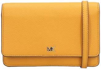 Michael Kors Orange Leather Bag
