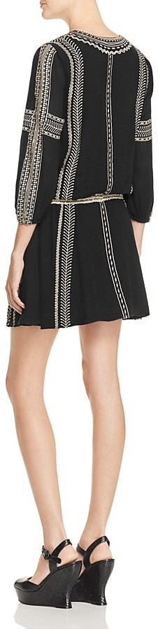 Alice + Olivia Jolene Embroidered Dress 2