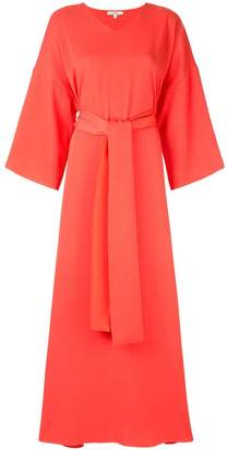LAYEUR wide sleeve maxi dress