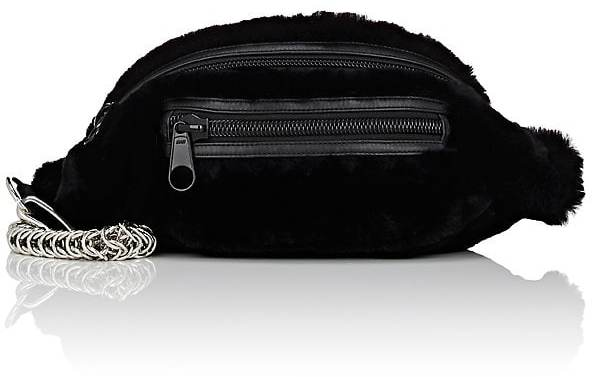 Alexander Wang Women's Primary Rabbit Fur Belt Bag