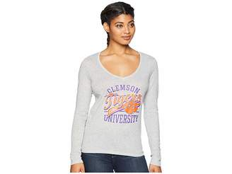 Champion College Clemson Tigers Long Sleeve V-Neck Tee