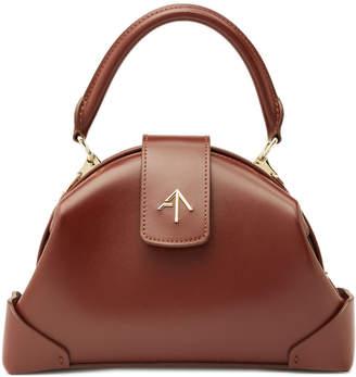 Atelier Manu Demi Leather Shoulder Bag