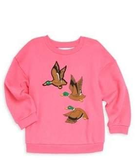 Mini Rodini Baby Girl's, Little Girl's& Girl's Duck Sweatshirt