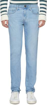 J Brand 'Tyler' washed slim fit jeans