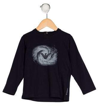 Giorgio Armani Baby Boys' Printed Knit Shirt