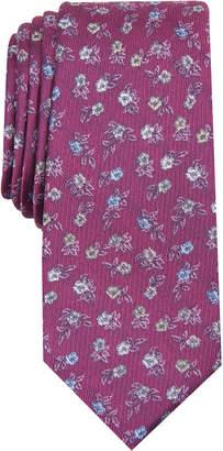 Bar III Men Glencoe Skinny Floral Tie