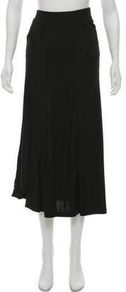 Paco Rabanne Asymmetrical Midi Skirt w/ Tags