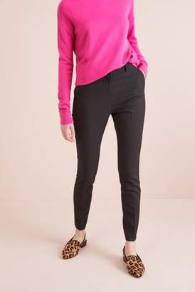 Next Womens Black Slim Fit Trousers