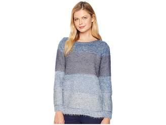 Tribal Long Sleeve Crew Neck Sweater